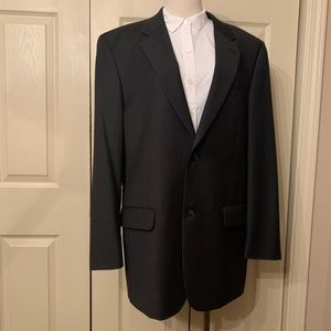 Turnbury for Dillard's Charcoal Gray Wool Suit 42L